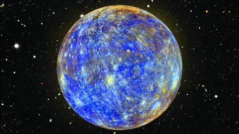 Hubble Deep Field, Space, Stars, Blue, Mercury, Nasa