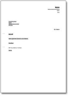 einholung eines angebots  musterbrief