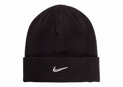 Bonnet Nike Noir Bebe Swoosh Enfant Metallic