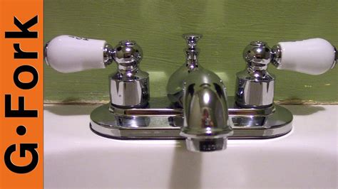install  bathroom sink faucet youtube