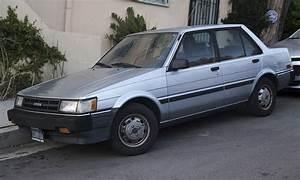 File 1987 Toyota Corolla Le Sedan  Front Left Jpg