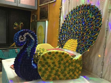 Peacock Decorations For Home: Best 25+ Janmashtami Decoration Ideas On Pinterest