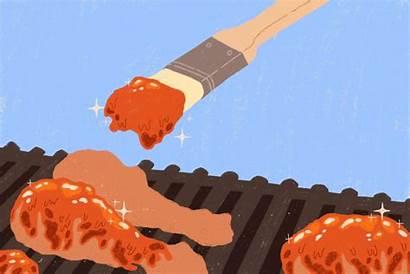 Chicken Times Skin Grill Burned Badilla Megan