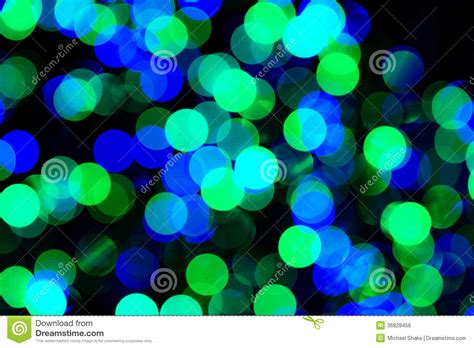 green blue bokeh lights royalty free stock image image