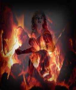 Fire Goddess Symbol