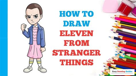 How to Draw Eleven from Stranger Things - Really Easy ...