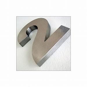 Numéro De Maison Design : num ro de maison en inox bross 13 cm ~ Dailycaller-alerts.com Idées de Décoration