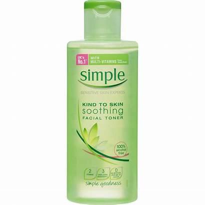 Toner Simple Skin Soothing Facial Kind 200ml