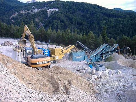 cave di ghiaia reggelbergbau ponente alto adige - Cava Di Ghiaia
