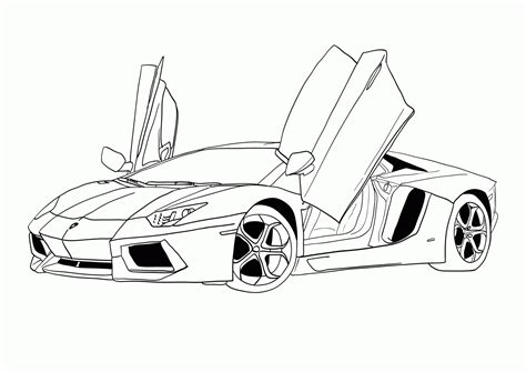 Cars Coloring Pages Free And Printable