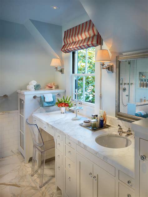 chevron bathroom ideas bathroom vanity with makeup area bathroom traditional with