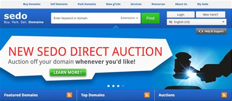 Sedo Domain Top 5 Websites To Buy And Sell Domain Names