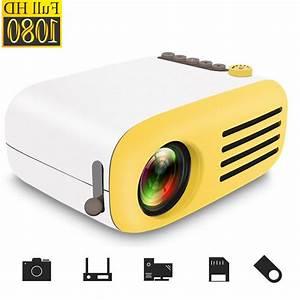 Full Hd 1080p Mini Projector Led Multimedia Home