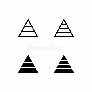 Process Triangle Diagram Stock Vector  Illustration Of