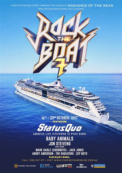 Rock Boat by Bettison Band Choose Your Cruise