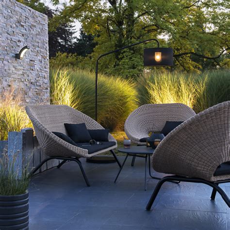 Salon de jardin en rotin Collection Loa - CASTORAMA | Exteriors outdoor gardens / Jardins et ...