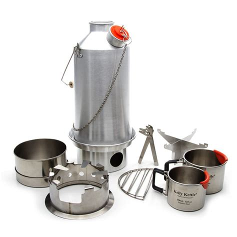 kettle camp kelly kit base ultimate camping fire aluminium aluminum steel kits 6ltr stove stainless pot support cooking alu stoves