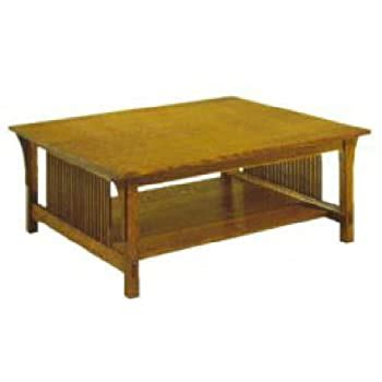 build   mission coffee table plan american
