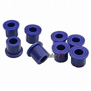 New 8x Poly Rear Spring Shackle Bushing For Holden Rodeo