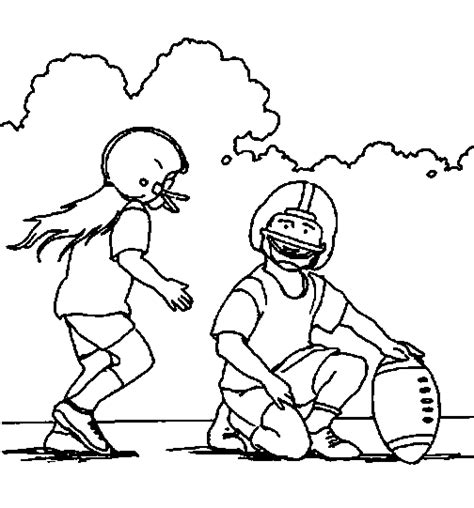 Rugby Kleurplaat by Sport Coloring Pages Coloringpages1001
