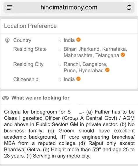were matrimonial ridiculous profiles came across indian most