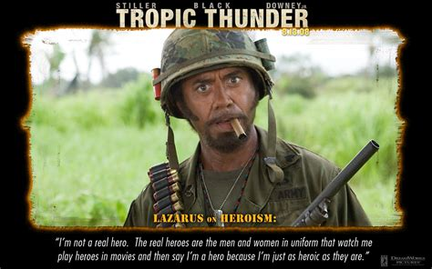 Tropic Thunder Meme - tropic thunder