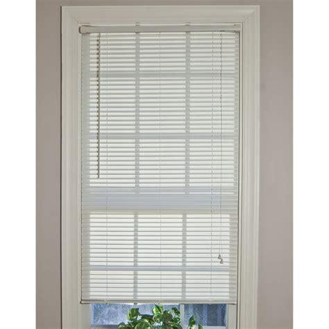 mini blinds walmart mainstays light filtering 1 quot mini blinds white walmart