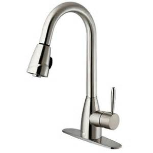 single handle pull out kitchen faucet vigo one handle single pull out spray kitchen faucet