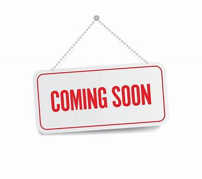 Soon Coming Sign Vector Clip Reminder Opening