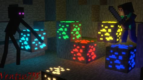 Minecraft Animation Wallpaper - minecraft animation glowing discovery