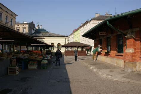 le marché de la cuisine le marché de kazimierz place nowy cracovie a la
