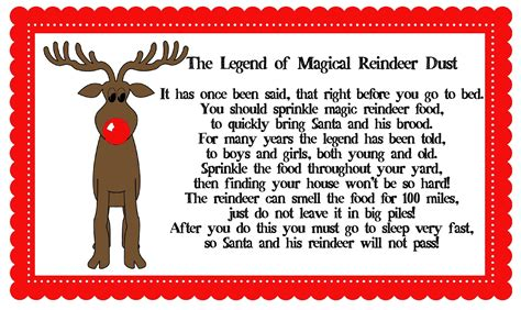 Magical Reindeer Dust. Maybe The Elf Could Bring This On