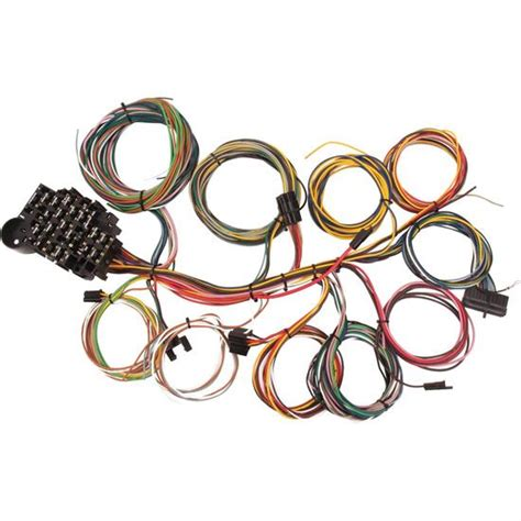New Speedway Circuit Chevy Wiring Harness Compact