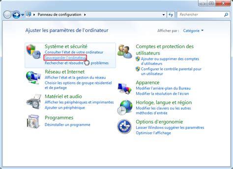 sauvegarde bureau windows 7 sauvegarde incrémentielle sous windows 7 copier