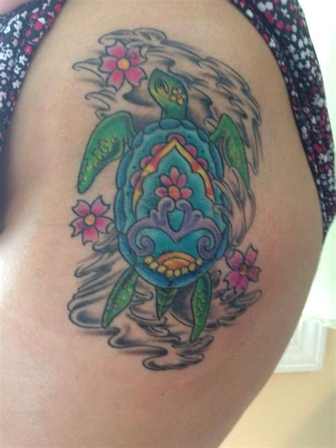 tattoo mandala turtle tattoo