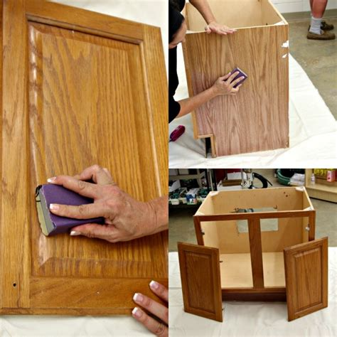 Cheap Bathroom Makeover by Cheap Bathroom Makeover How To Prep Your Outdated Vanity
