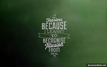 Fearless Attitude Quotes Wallpapers Motivational Desktop Am