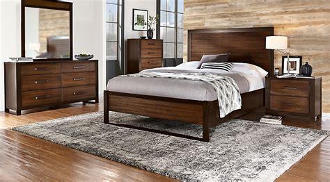 abbott hazelnut  pc queen panel bedroom queen bedroom