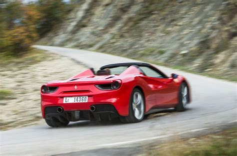 Review 488 Spider by 488 Spider Review 2019 Autocar