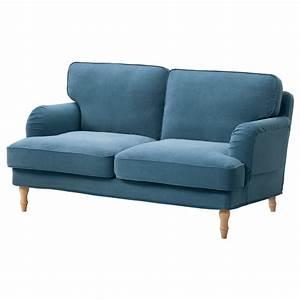 Kleiderbügel Holz Ikea : stocksund 2er sofa ljungen blau hellbraun holz ikea ~ Watch28wear.com Haus und Dekorationen