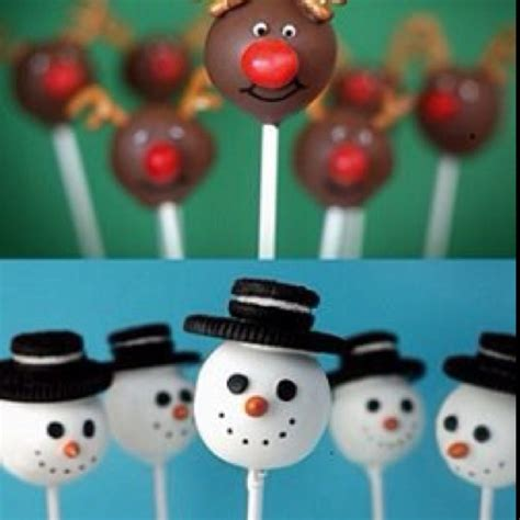 holiday cake pop ideas baking and decorating pinterest