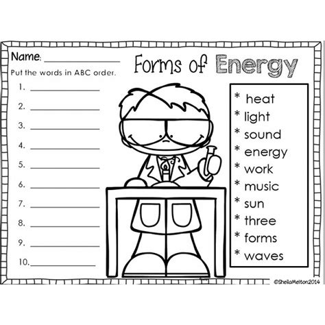 light and sound worksheets for grade homeshealth info