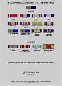 Coast Guard Medals And Awards Chart Army National Guard Awards And Decorations