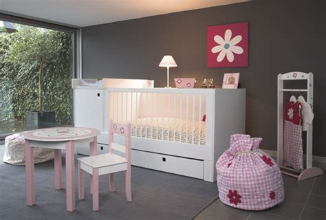 déco chambre bébé fille et gris decoration chambre bebe fille gris et