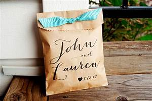 wedding favor bags personalized wedding favor bag country With personalized candy bags for wedding favors