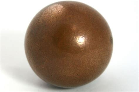 copper sphere materials materials library institute  making