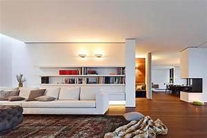 Große Bilder Wohnzimmer : einrichten wohnzimmer mit offenem grundriss bild 3 ~ Michelbontemps.com Haus und Dekorationen