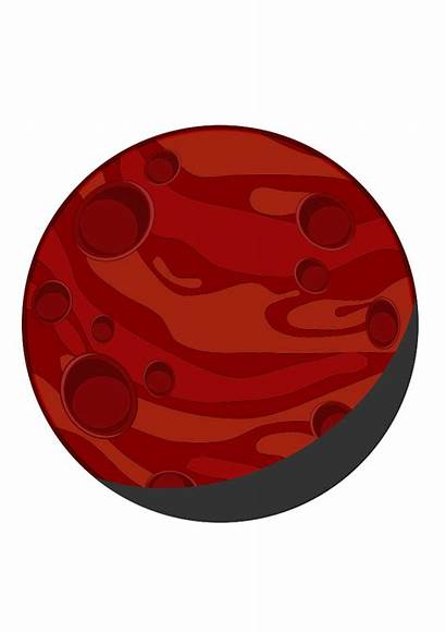 Planet Clip Planets Clipart Mars Clipartpanda Svg