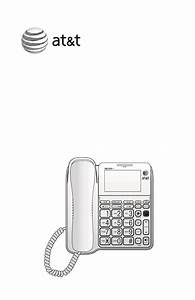At U0026t Corded Phone With Answering System Cl4940 User U0026 39 S
