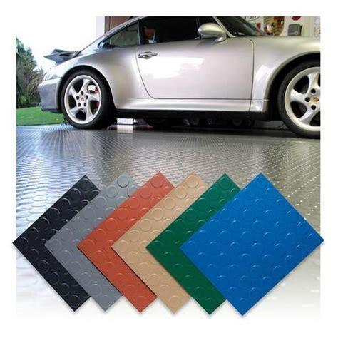 coin top garage floor mat home flooring ideas